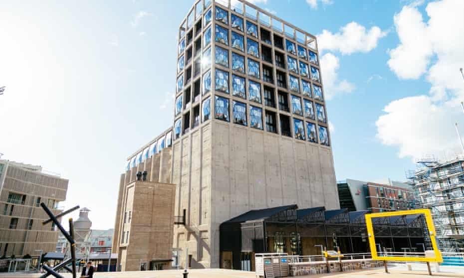 The Thomas Heatherwick-designed Zeitz Museum of Contemporary Art Africa in Cape Town.