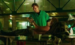 'Beguiling': Sven Nordin as Ravn, the 'underground' surgeon in Valkyrien
