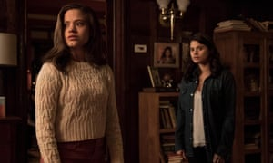 Witchy goings-on … the first episode of the new Charmed reboot.