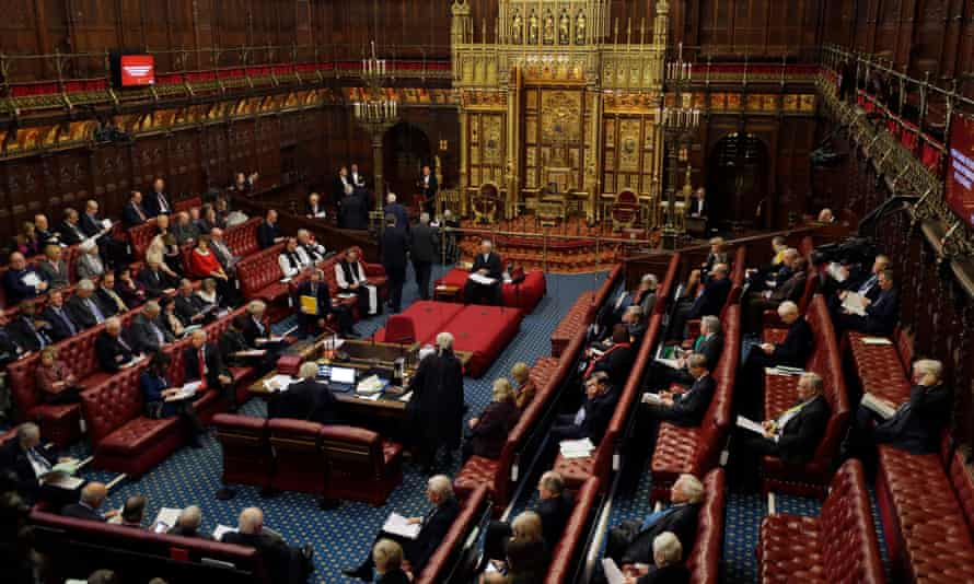 The House of Lords in January 2020
