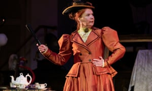 Sarah Ball (Lady Bracknell) in The Importance of Being Earnest