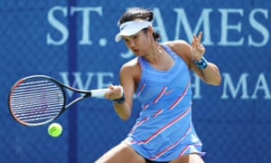 Emma Raducanu showed why she is the best British prospect in the women's game during defeat to Heather Watson.