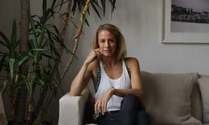 Author Sarah Wilson at her apartment in Bondi
