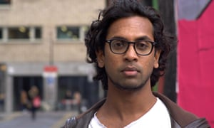 Guy Gunaratne, who will be included on Swansea's ew Dylan Thomas prize module.