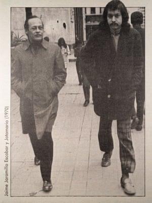 Jaime Jaramillo Escobar y Jotamario in 1970.
