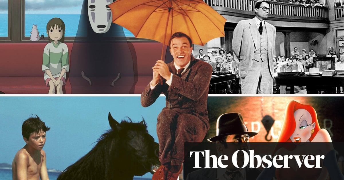 The best films for children: Observer readers have their say