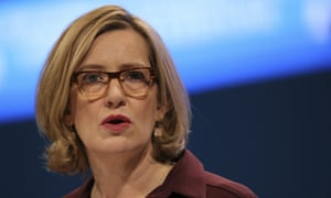 Amber Rudd is due to launch the Conservative government's new strategy to tackle serious violent crime on Monday.