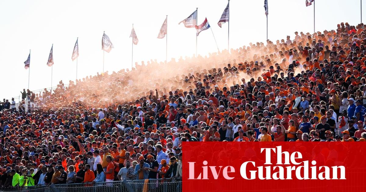 Dutch Grand Prix: F1 – live!