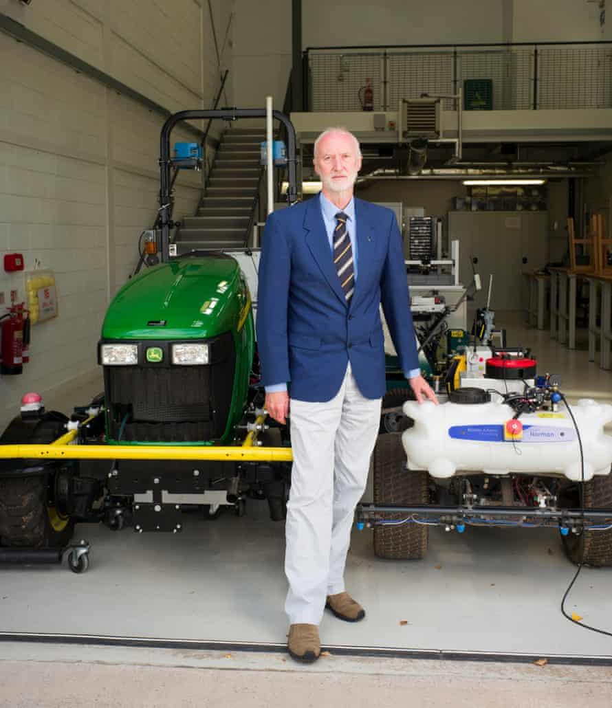 'Small farms, big opportunity': precision farming pioneer Simon Blackmore.