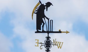 The Father Time weathervane at Lord's cricket ground