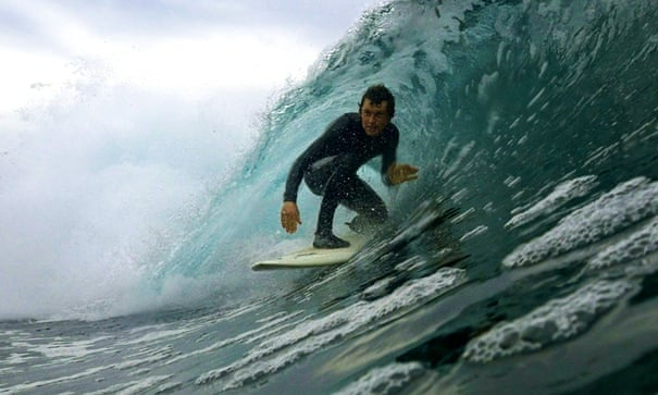 Between Land and Sea review – the brutal beauty of a surfers