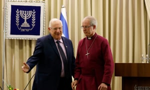 Reuven Rivlin and Justin Welby