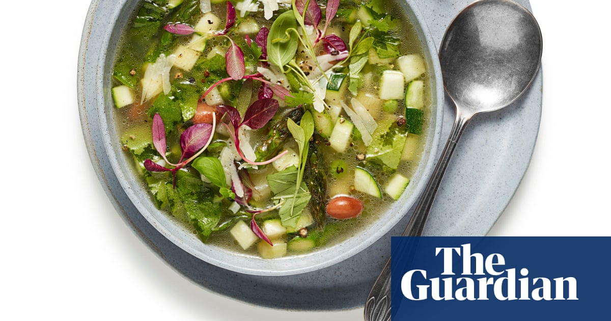 How to make summer minestrone – recipe