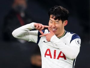 Son celebrates a picture perfect goal