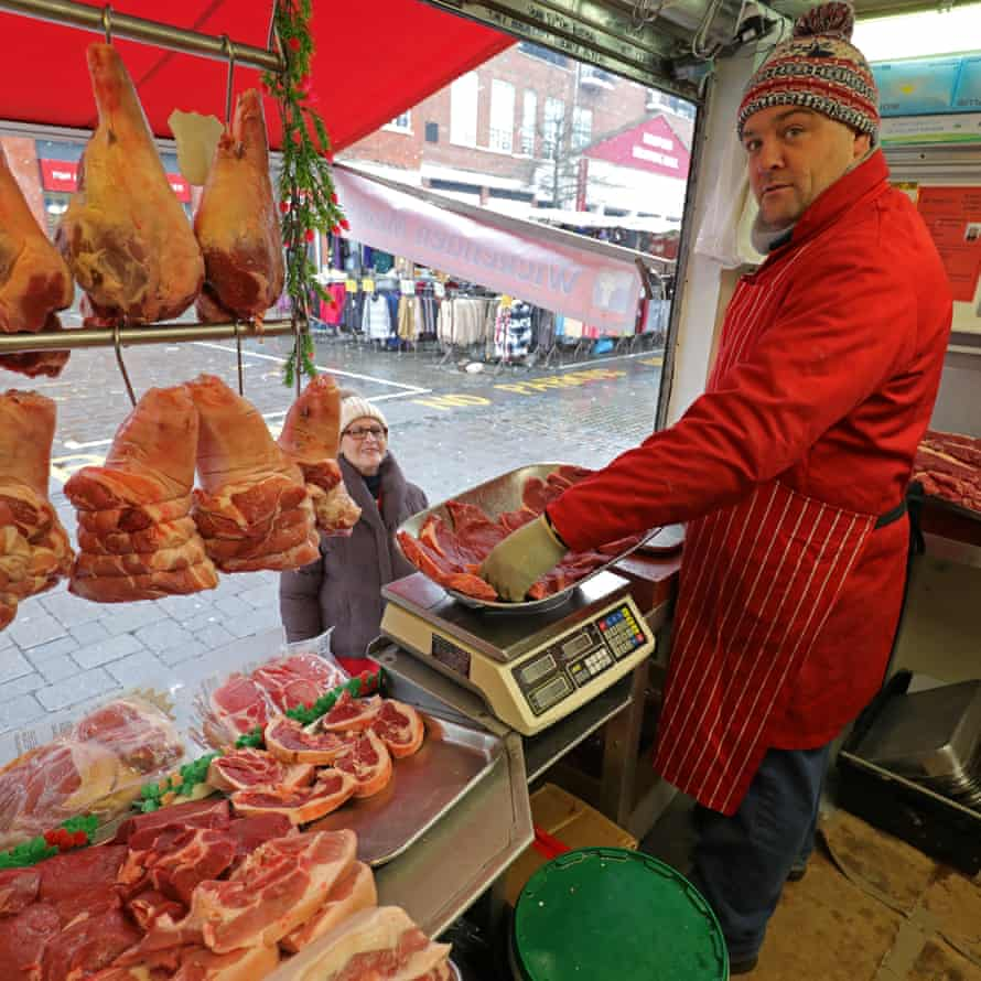 Steve Wickenden of Wickenden Meats who have been trading in Romford for 30 years