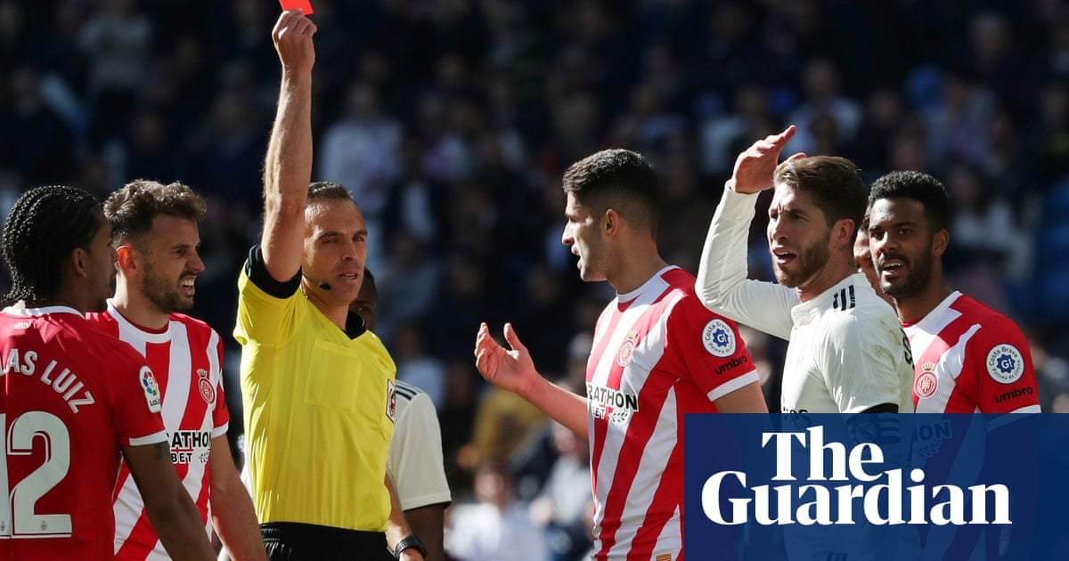 b91a1b34533 Sergio Ramos and his 25 Real Madrid red cards  a retrospective ...