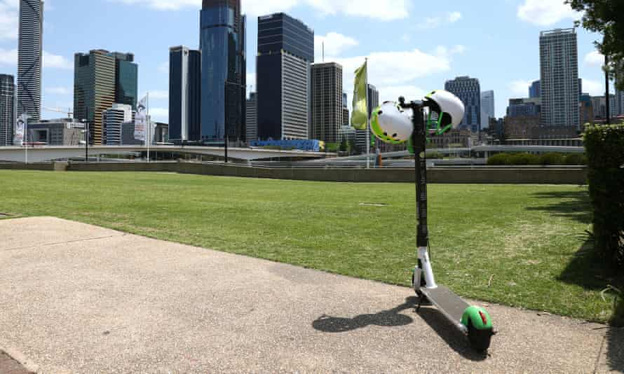 A Lime Scooter in Brisbane