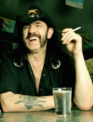Lemmy at the Rainbow Bar and Grill, May 2004.
