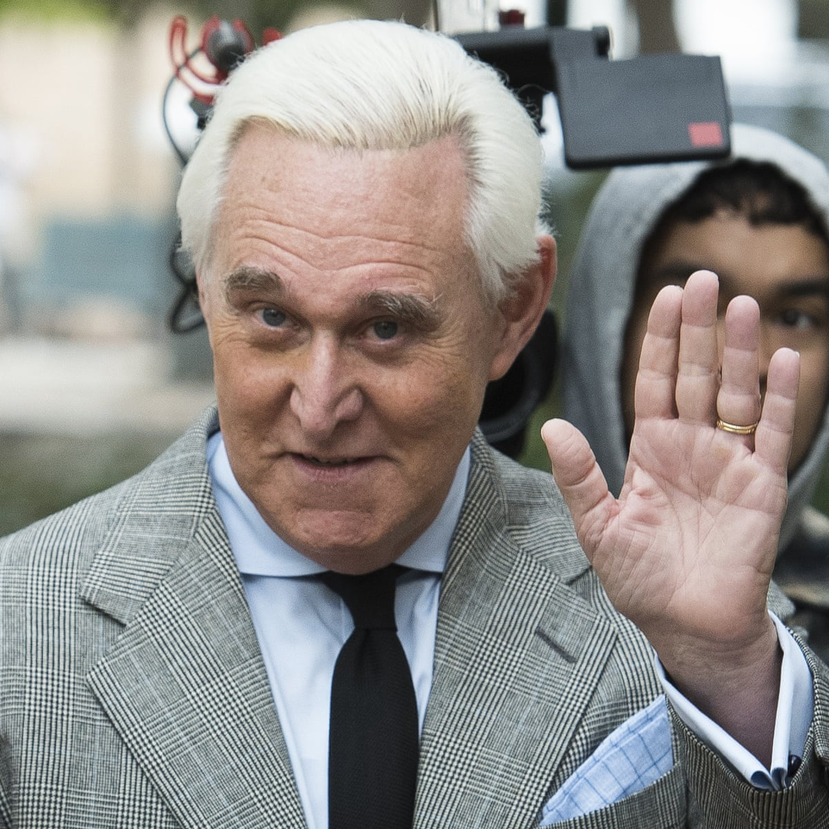 Tattoo roger stone Does Roger