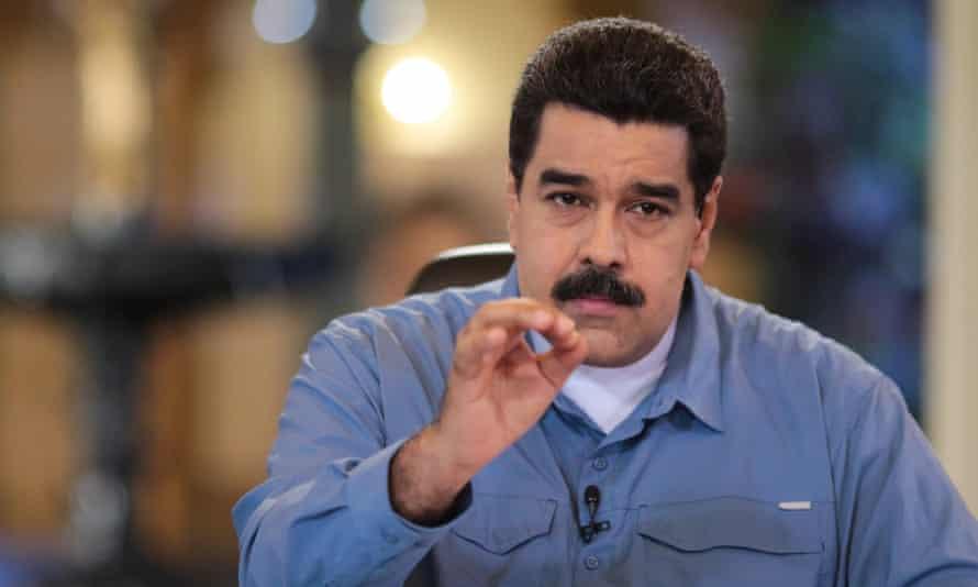 Venezuelan president Nicolas Máduro is facing plunging popularity amid the country's deep recession.