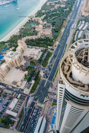 Farimah Moeini's view in Dubai.