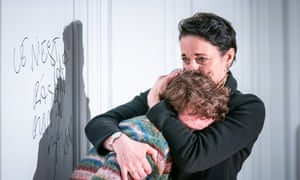 Laurie Kynaston and Amanda Abbington in The Son.