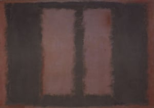 Black on Maroon by Mark Rothko.
