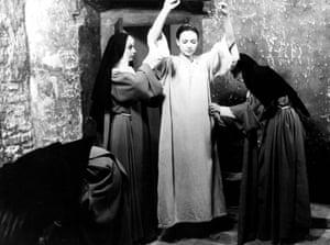 Anna Karina in The Nun