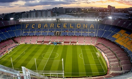 Barcelona to charge Manchester United fans £102 for ticket at Camp Nou
