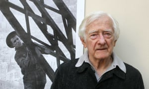 Marc Riboud at an exhibition of his work in Paris, 2009.