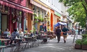 A street in Berlin's Kreuzberg district.