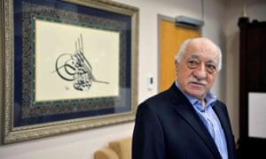 Fethullah Gülen at his home in Saylorsburg, Pennsylvania, where he has lived since 1999.
