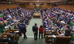 A less than full Commons during prime minister's questions on Wednesday.