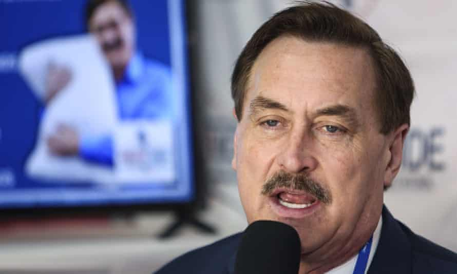 Mike Lindell was once a regular guest on Fox News and his company remains a prolific advertiser.
