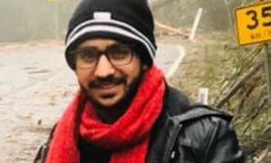 Poshik Sharma went missing in the Victorian town of Marysville while on the way to Mount Buller with friends