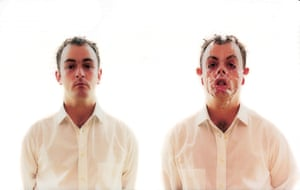 Douglas Gordon's self-portrait as a Jekyll and Hyde character, Monster (1997)
