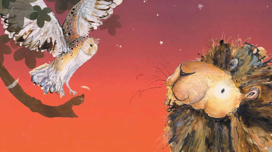 'Hits the spot': Catherine Rayner's Arlo the Lion Who Couldn't Sleep.