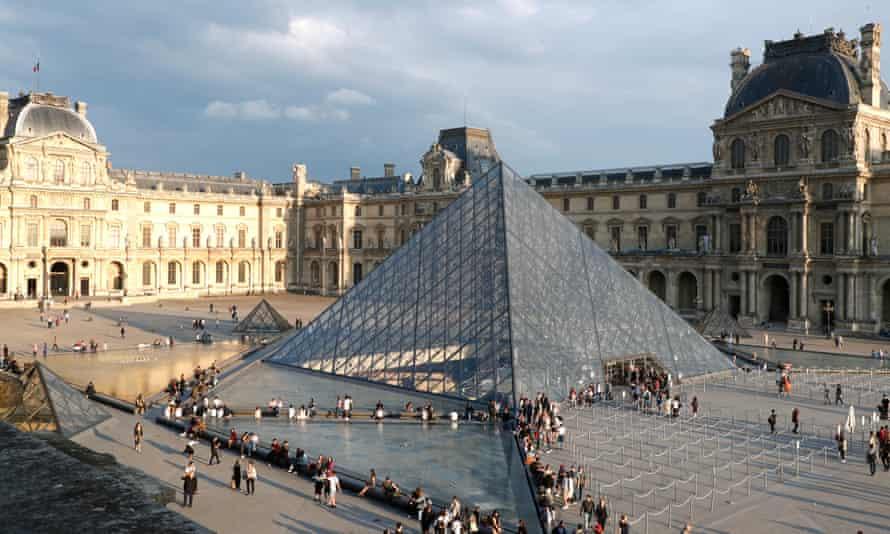 The Louvre in Paris.
