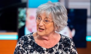 Germaine Greer on the Good Morning Britain' TV show, London, 15 May 2018