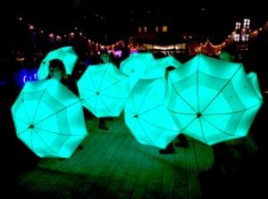 Umbrella Project by Cirque Bijou