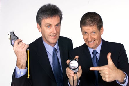 Roy Slaven and H.G. Nelson, presenters of the The Dream, Sydney Olympics 2000, Channel Seven.
