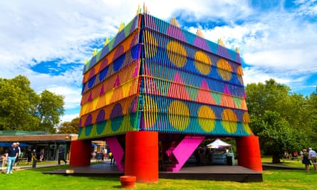 The Dulwich pavilion 2019: the Colour Palace by Yinka Ilori and Pricegore architects