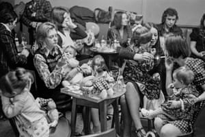 Abertillery. Childrens party. 1974