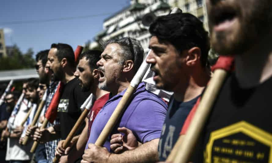 Athens demonstration