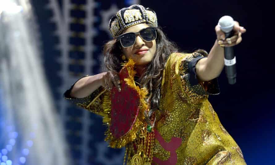 Maya Arulpragasam aka MIA performs as part of the Fun Fun Fun Festival.