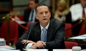 Chris Eccles, head of Victoria's Department of Premier and Cabinet.