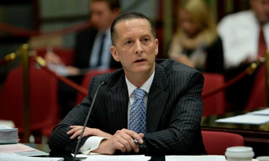 Chris Eccles, secretary of Department of Premier and Cabinet