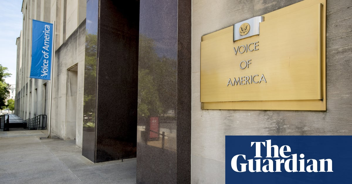 VOA journalists call on director to resign over 'propaganda event' for Pompeo