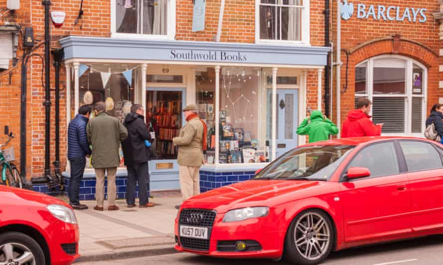 The Southwold Books bookshop in Southwold