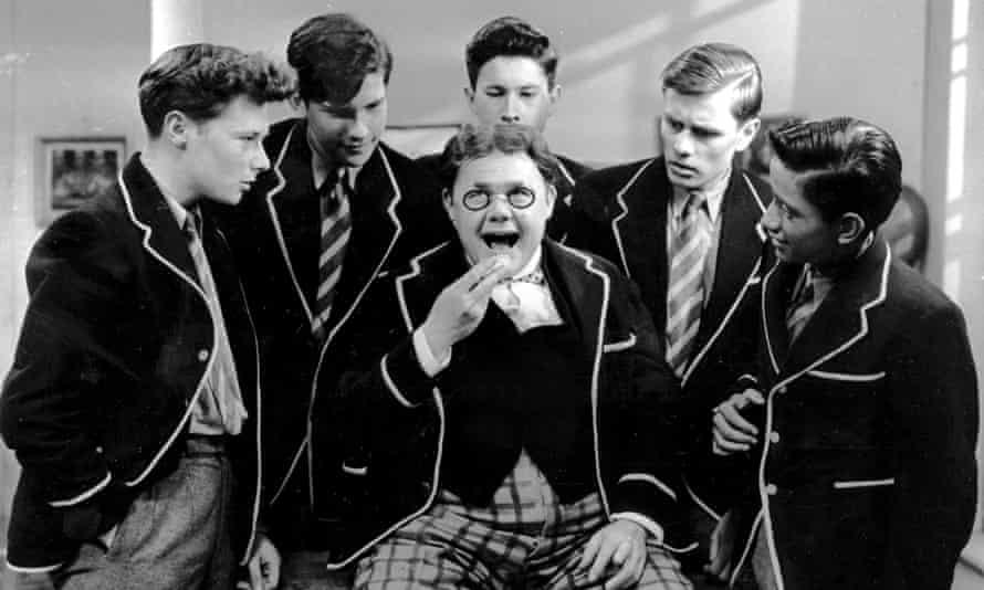 Still from the children's TV series Billy Bunter, starring Gerald Campion (centre).